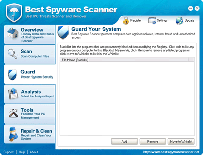 Best Spyware Scanner Blacklist