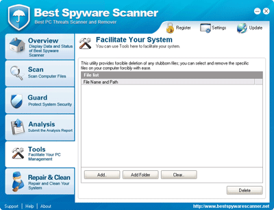 Best Spyware Scanner File Deletion
