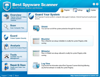 Best Spyware Scanner Guard Utility