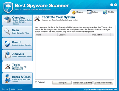Best Spyware Scanner Quarantine Folder